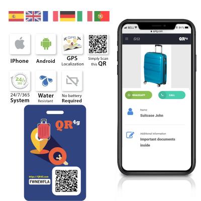 QR4G com NFC QR GPS geolocates any lost device  Progressive